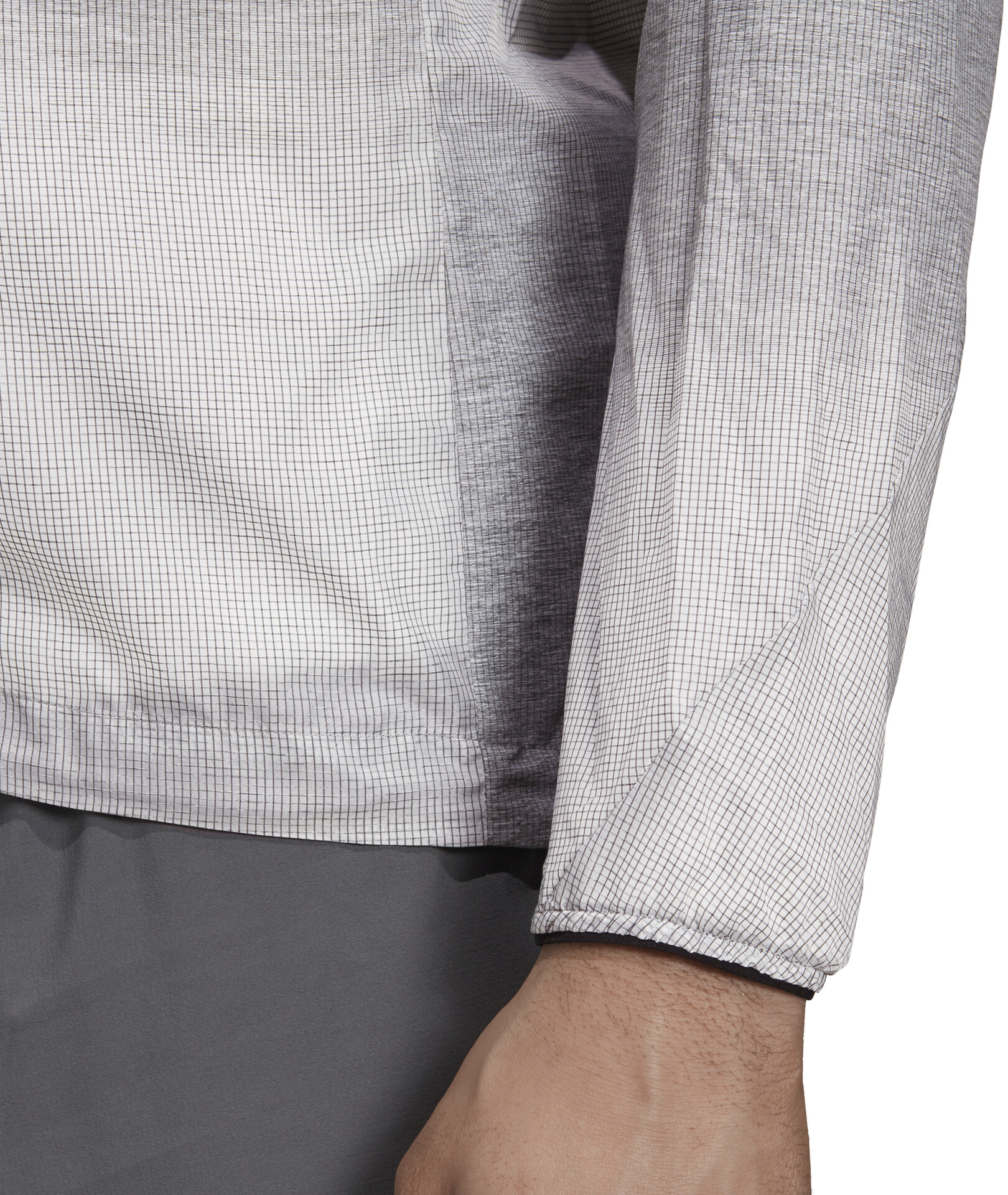 adidas TERREX Agravic Windweave Jacket Herre grey fourwhite